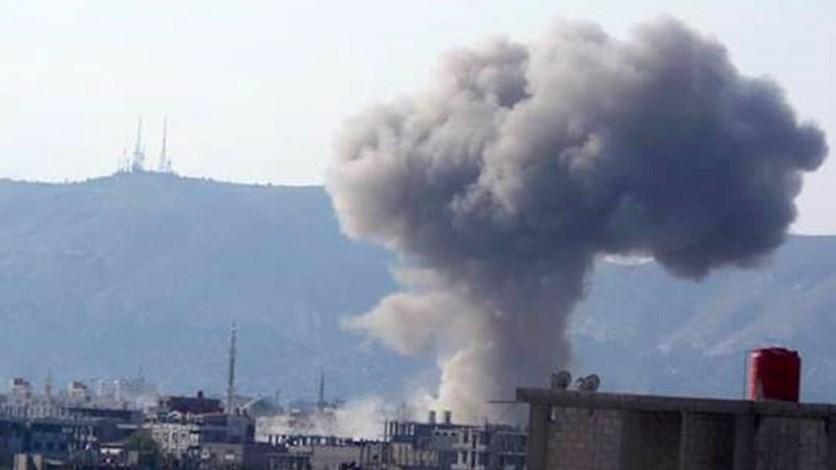 القصف على الغوطة الشرقية