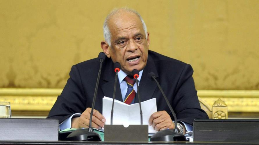الدكتور على عبد العال رئيس مجلس النواب المصرى