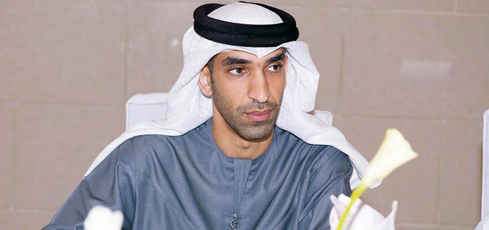 ثاني بن أحمد الزيودي وزير التغير المناخي والبيئة