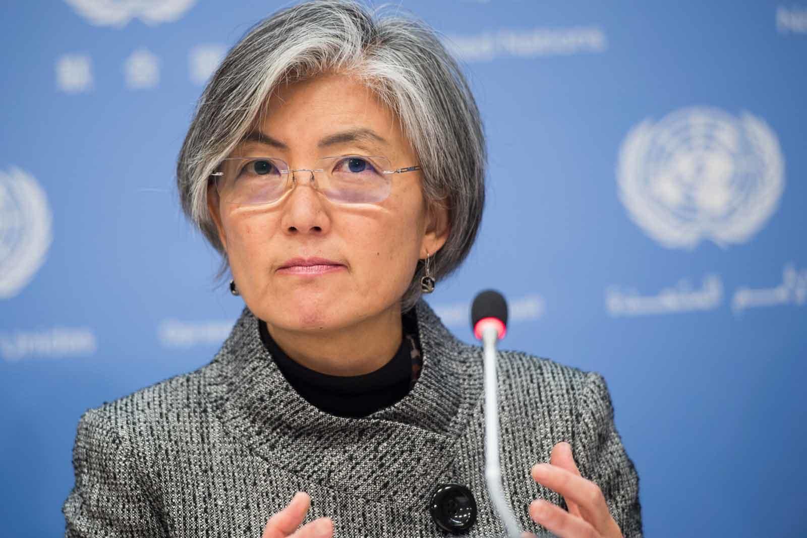 وزيرة خارجية كوريا الجنوبية كانج كيونج-وا