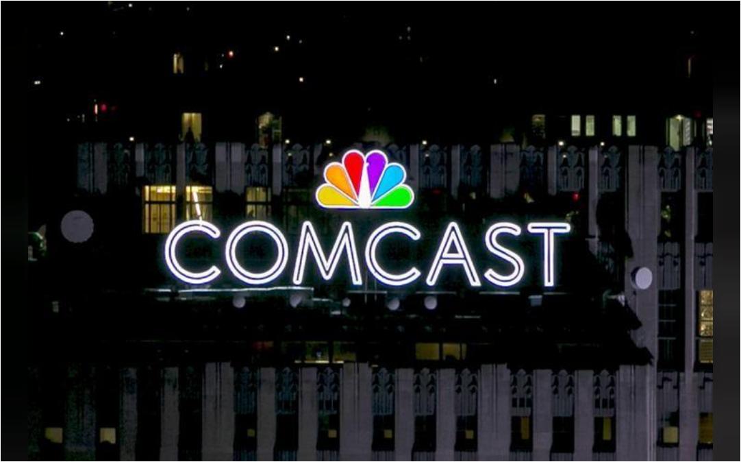 شعار كومكاست في نيويورك