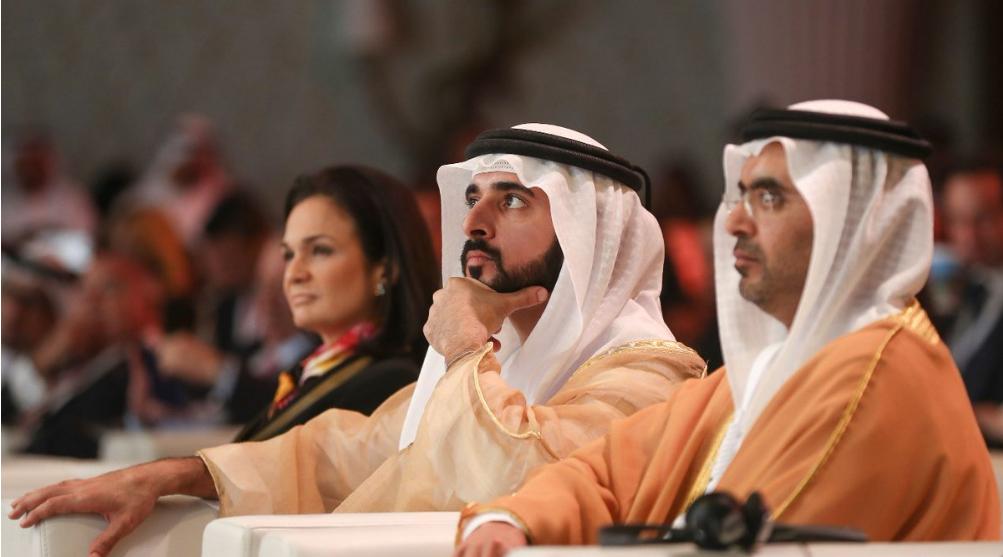 حمدان بن محمد يشهد توقيع مذكرة تفاهم بين غرفة دبي وحكومة بنما