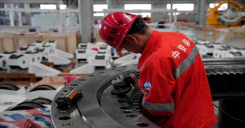 القطاع الصناعي الصيني