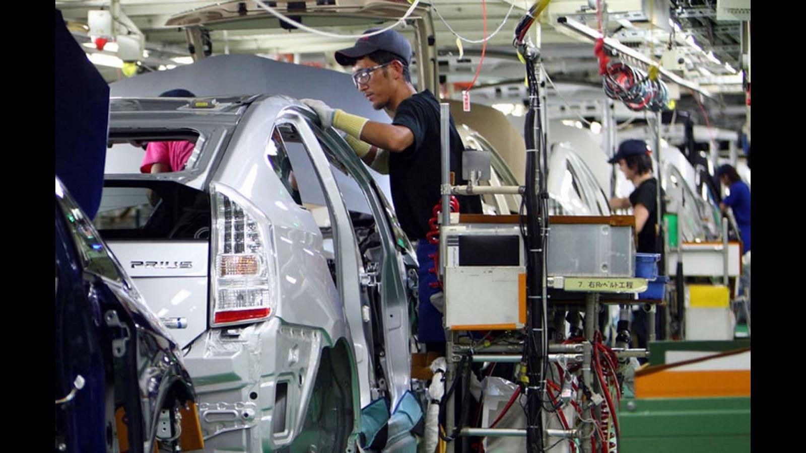 الإنتاج الصناعي لليابان