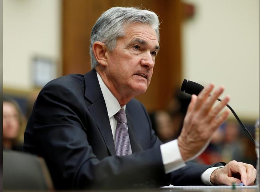 رئيس مجلس الاحتياطي الاتحادي جيروم باول يسلم تقرير السياسة النقدية نصف السنوي للجنة الخدمات المالية في مجلس النواب الأمريكي
