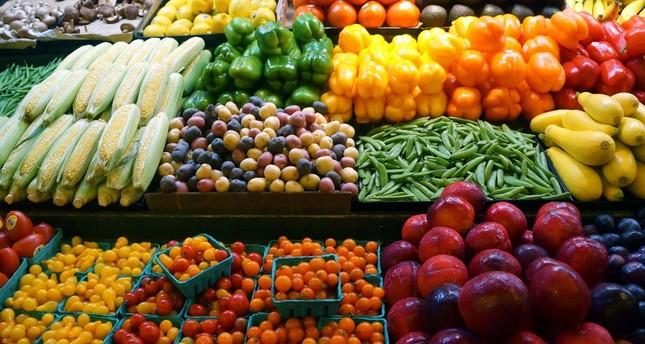 الخضروات والفواكه التركية