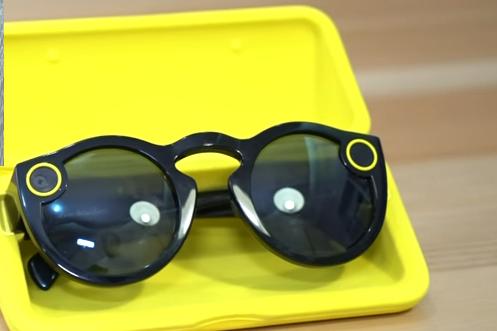 نظارة سناب شات