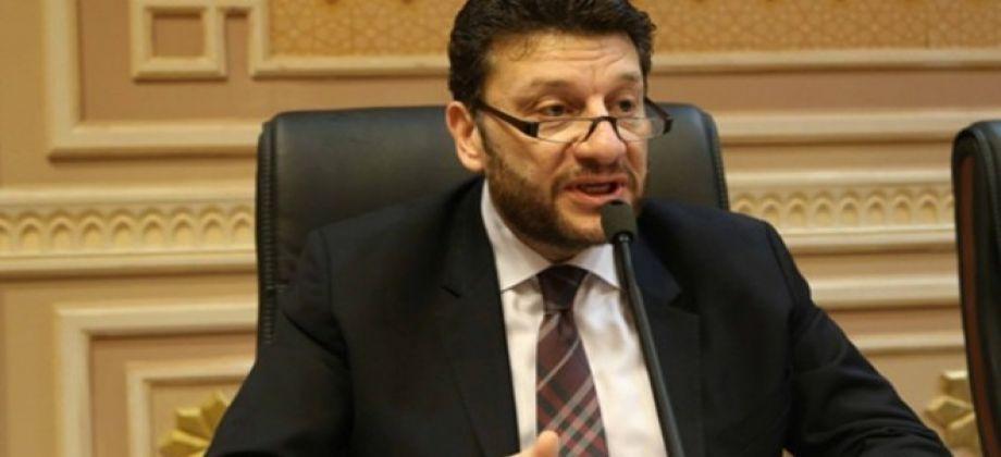 عمرو المنير  نائب وزير المالية المصرى