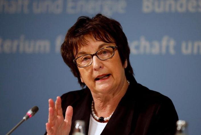 وزيرة الاقتصاد الألمانية بريجيته تسيبريس