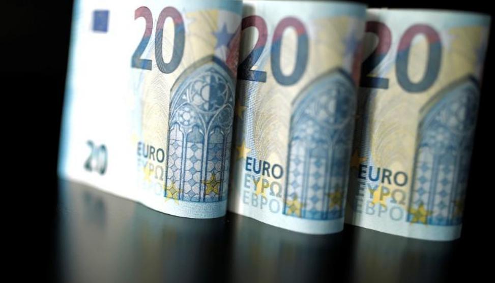 أوراق نقد من فئة العشرين يورو