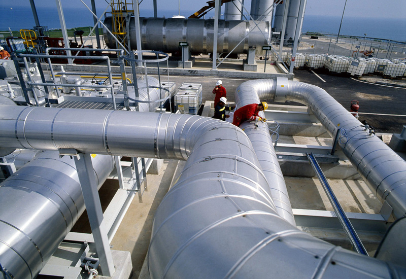 شبكات الغاز الطبيعي