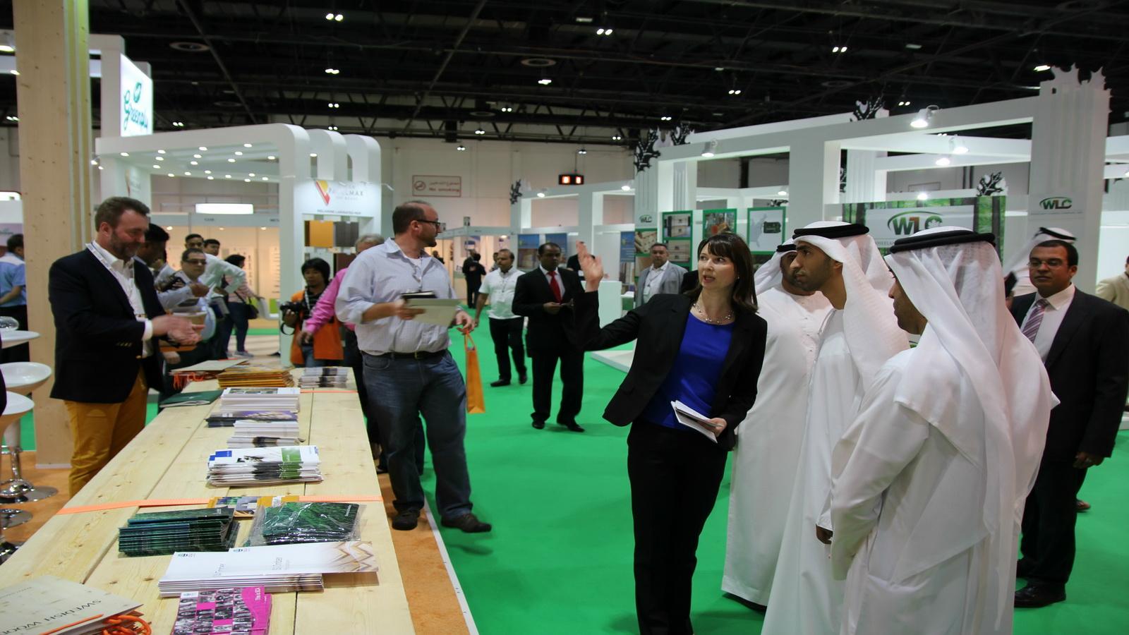 معرض دبي الدولي للأخشاب