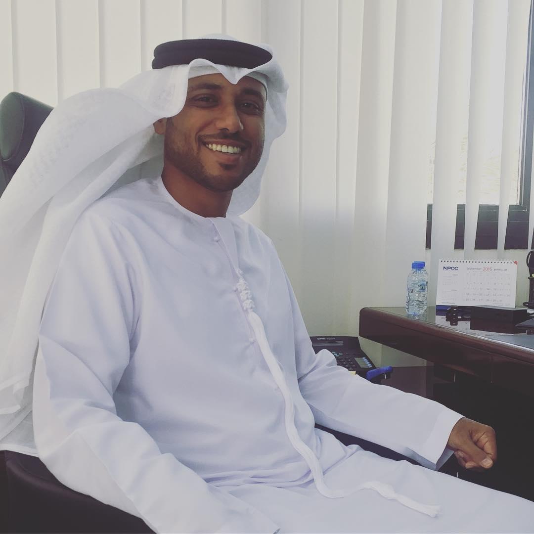 أحمد سالم الظاهري الرئيس التنفيذي لشركة الإنشاءات البترولية الوطنية