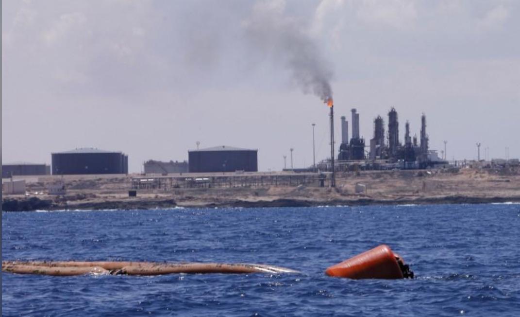 ميناء الزاوية النفطي في ليبيا