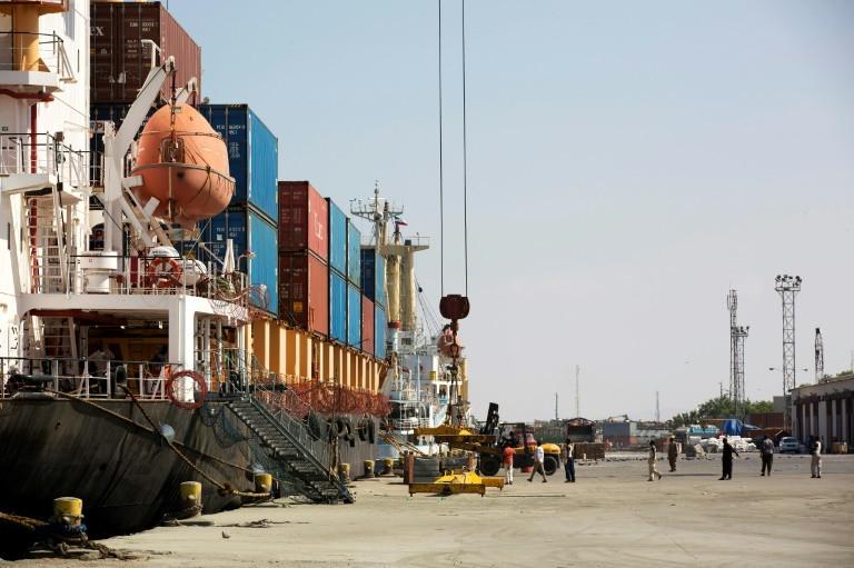صورة لميناء بربرة في منطقة ارض الصومال