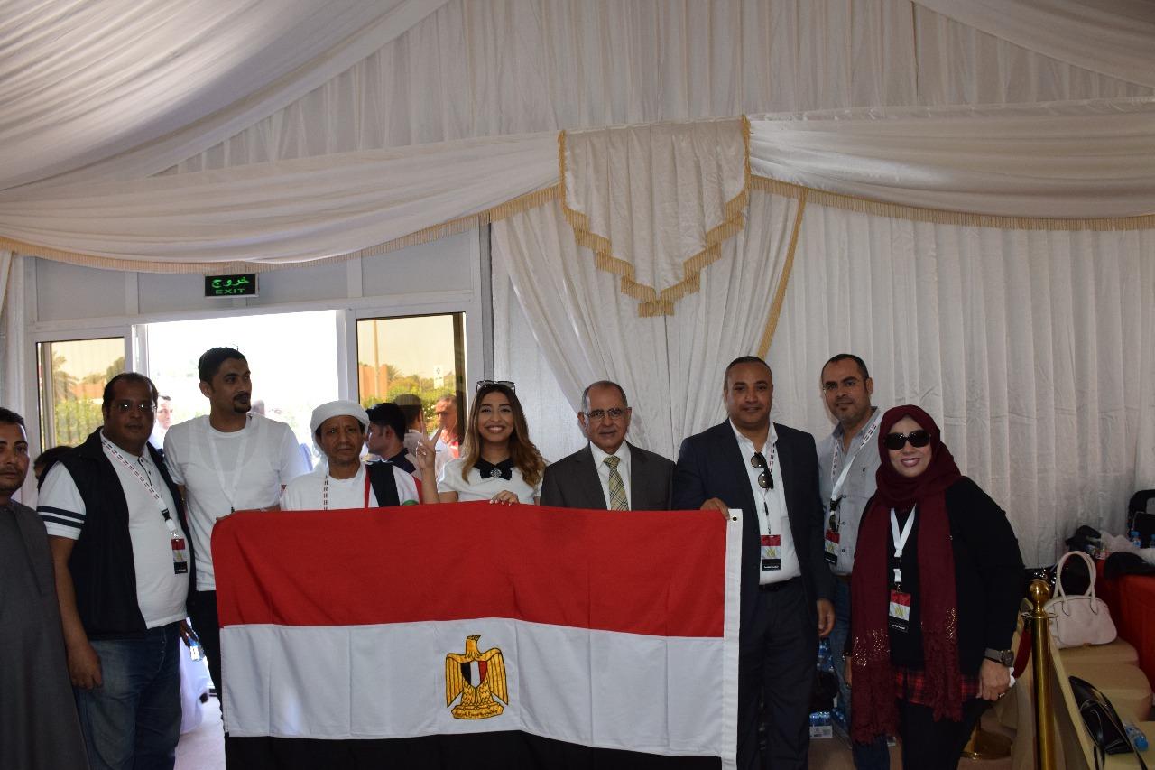 توافد المصريين في الإمارات للتصويت في الانتخابات الرئاسية
