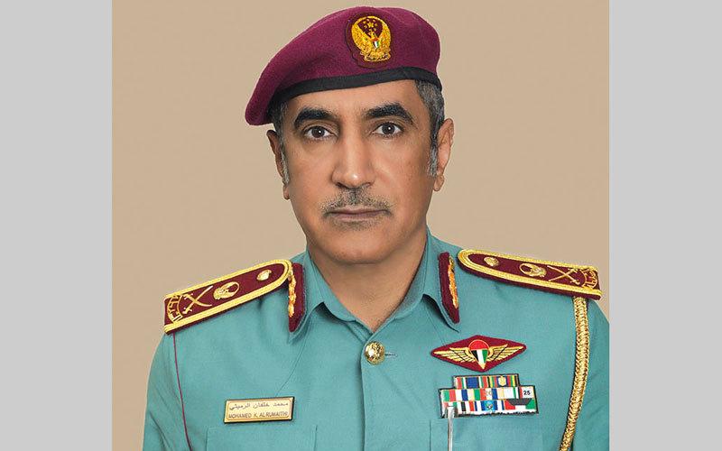 اللواء محمد خلفان الرميثي