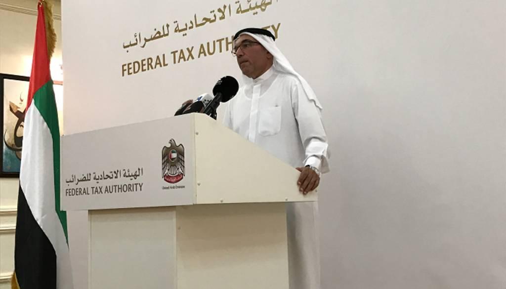 خالد علي البستاني مدير عام الهيئة الاتحادية للضرائب