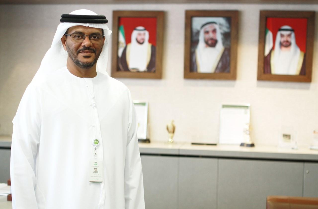 ناصر محمد الجنيبي الرئيس التنفيذي لمركز خدمات المزارعين