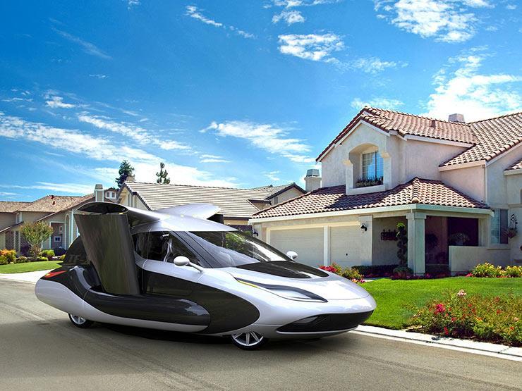 اول سيارة طائرة كهربية في العالم