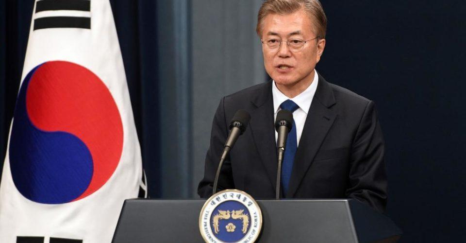 رئيس كوريا الجنوبية، مون جاي إن