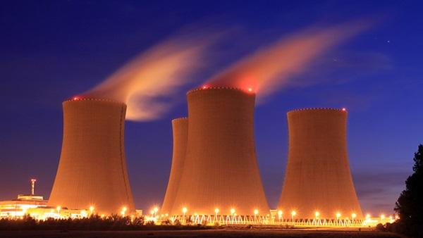 محطة للطاقة النووية - صورة تعبيرية