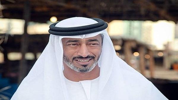 قائد القوات البحرية الإماراتية الشيخ سعيد بن حمدان بن محمد