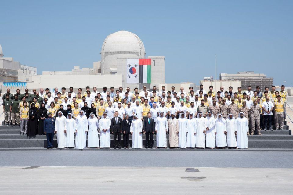 الإمارات تعلن اكتمال إنشاء المحطة النووية الأولى في براكة