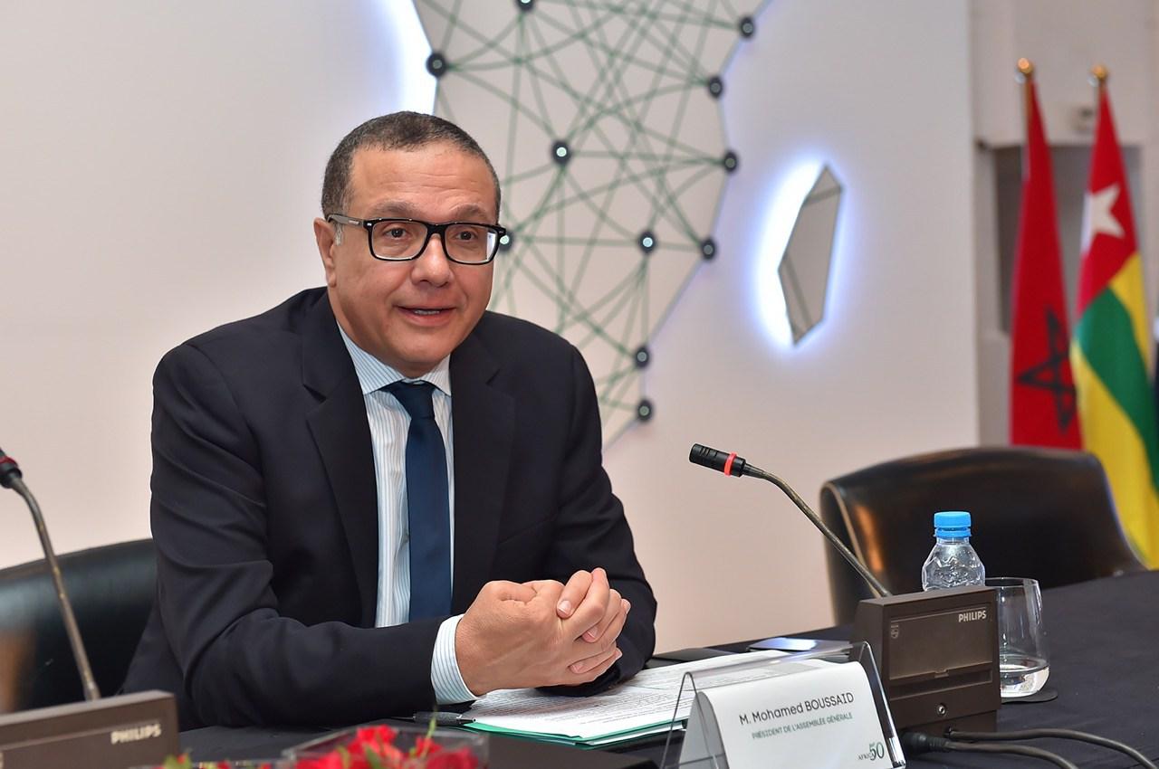 وزير المالية المغربي محمد بوسعيد
