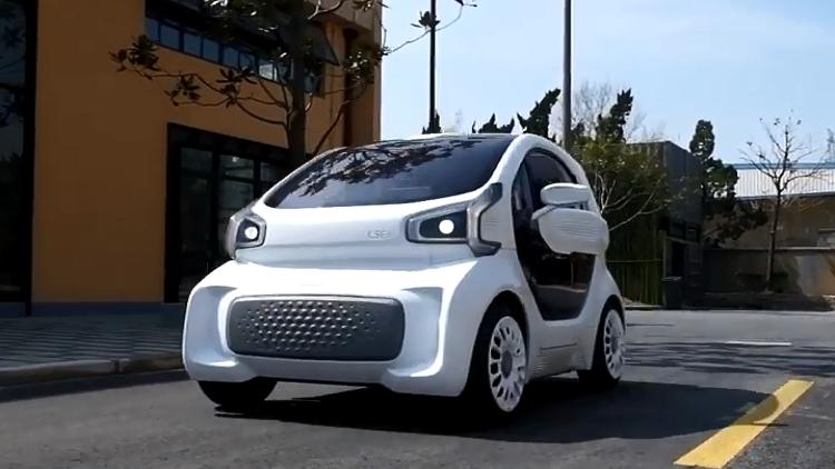 أول سيارة كهربائية في العالم مطبوعة بتقنية 3D
