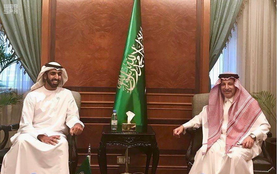 سفير الدولة لدى الرياض يلتقي وزير الدولة للشؤون الأفريقية في السعودية