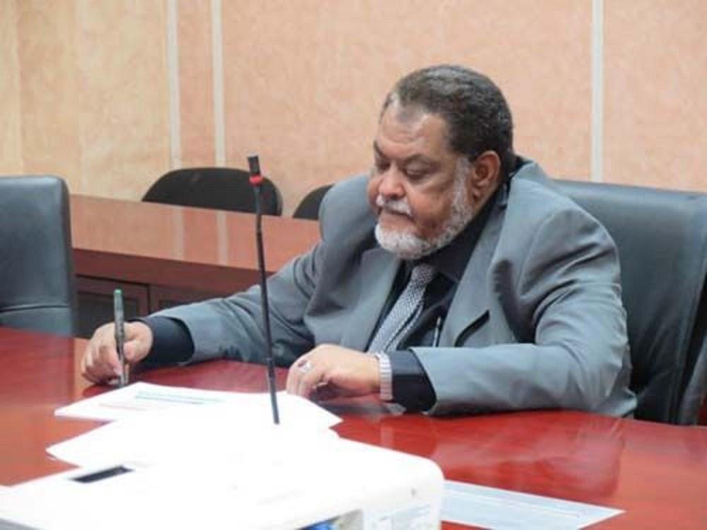 وزير المالية السوداني محمد عثمان الركابي