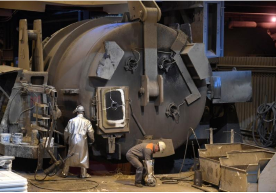 عاملان بمصنع صلب بألمانيا