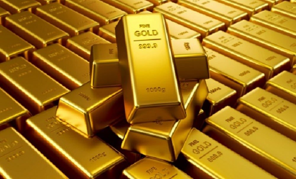 سبائك من الذهب