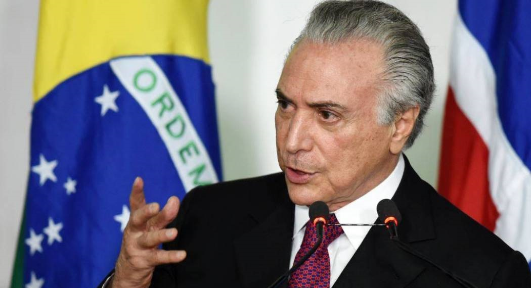 ميشال تامر رئيس جمهورية البرازيل
