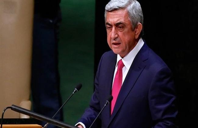 رئيس وزراء أرمينيا سيرج سركسيان