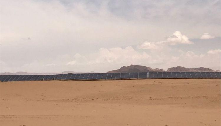 مشروع القويرة للطاقة الشمسية في الأردن