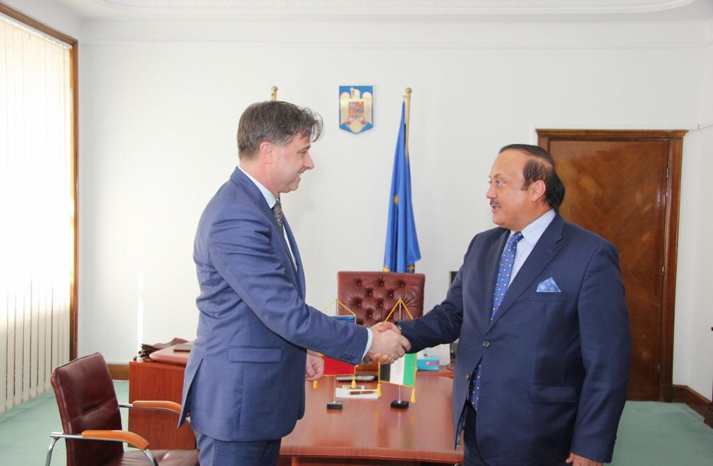 الإمارات ورومانيا تبحثان سبل تعزيز العلاقات الثنائية