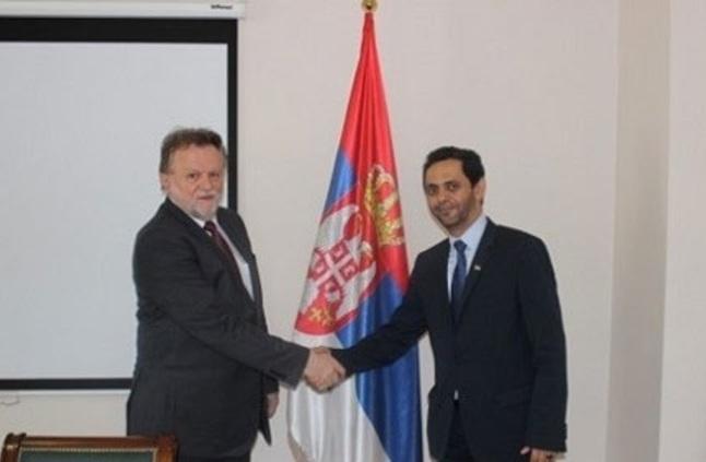 الإمارات وصربيا تبحثان أوجه التعاون بين البلدين