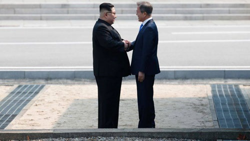 قمة الكوريتين