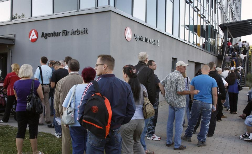 العاطلين عن العمل في ألمانيا
