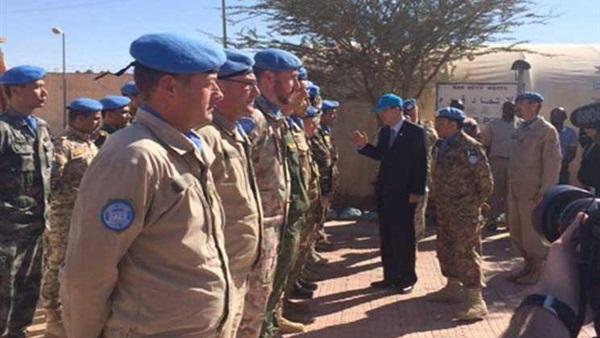 الأمم المتحدة تمدد فترة بعثتها في الصحراء الغربية إلى 6 أشهر
