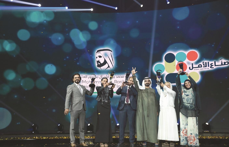 محمد بن راشد يتوج صانع الأمل الأول في الوطن العربي 14 مايو المقبل