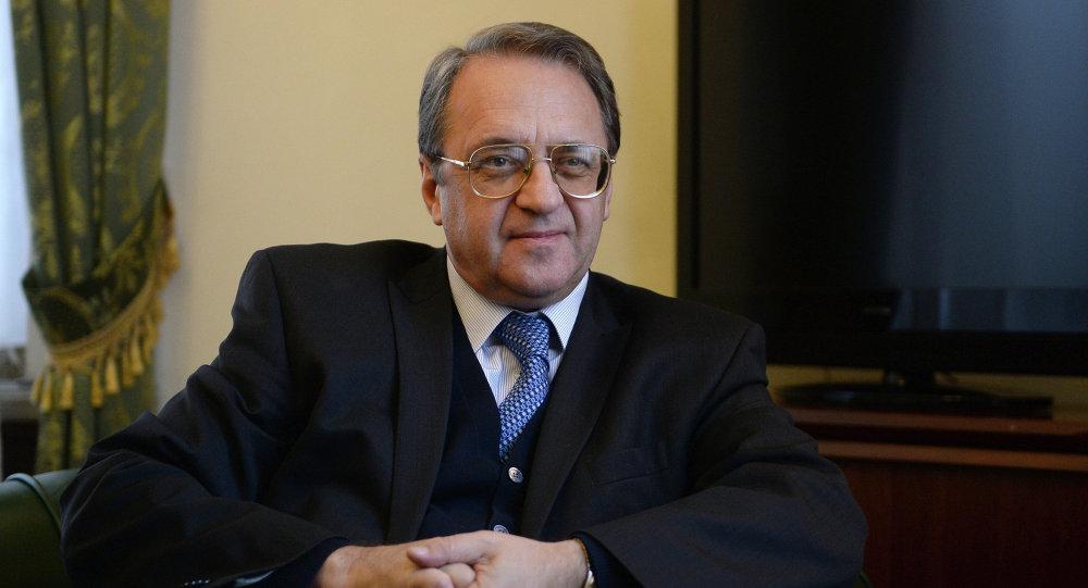 وزير الخارجية ميخائيل بوجدانوف