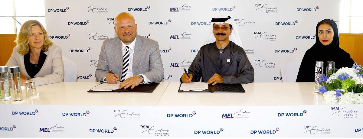 موانئ دبي توقع مذكرة تفاهم