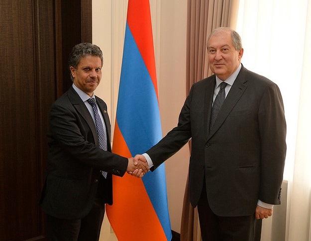 رئيس أرمينيا: الإمارات نموذج للتطور الاقتصادي والحضاري