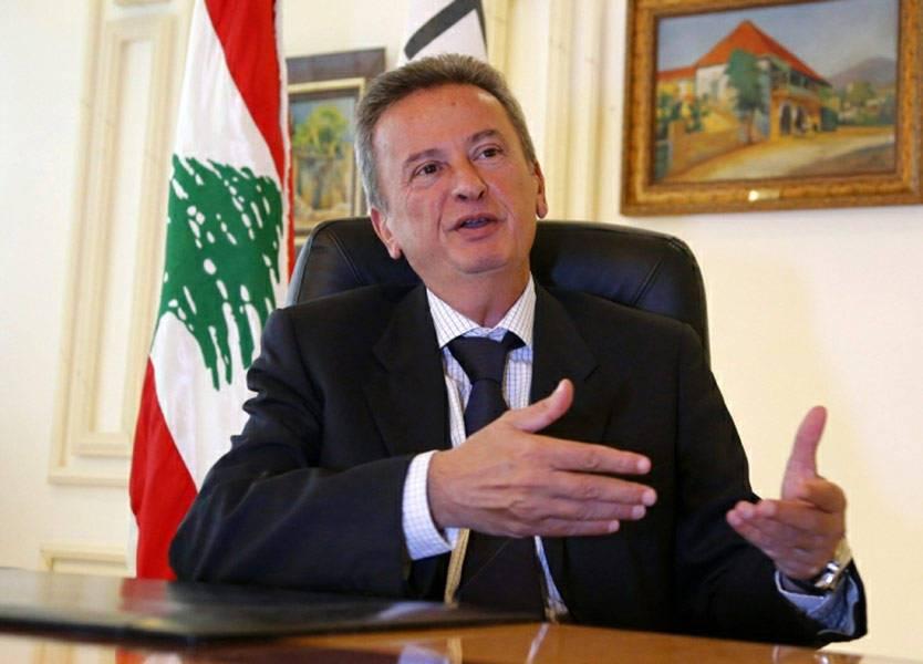 محافظ مصرف لبنان المركزي رياض سلامة