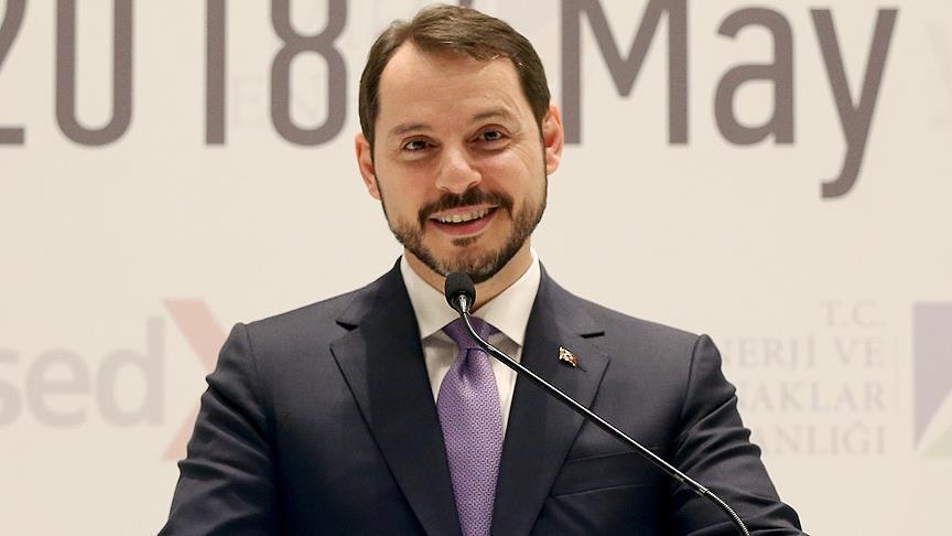 وزير الطاقة والموارد الطبيعية التركي براءت ألبيراق