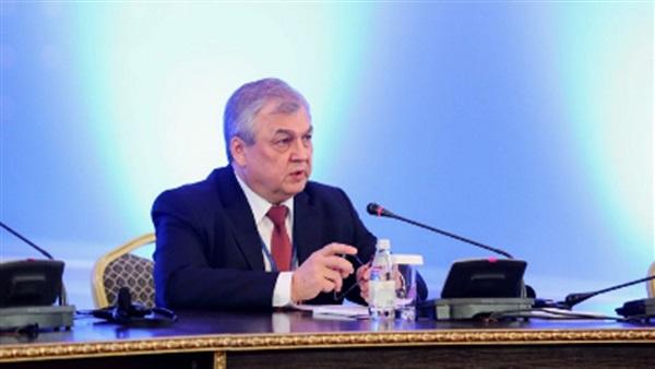 ألكسندر لافرينتيف رئيس الوفد الروسي
