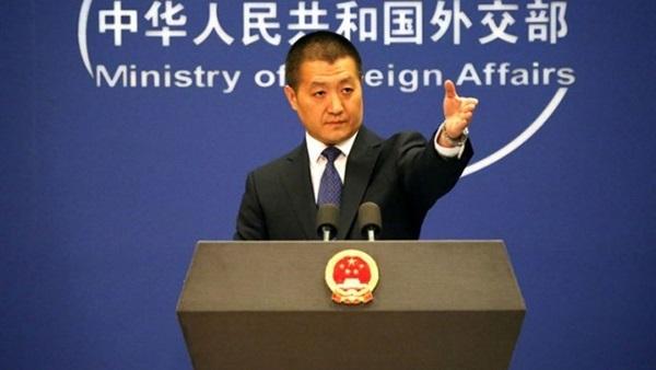 المتحدث باسم وزارة الخارجية الصينية لو كانغ